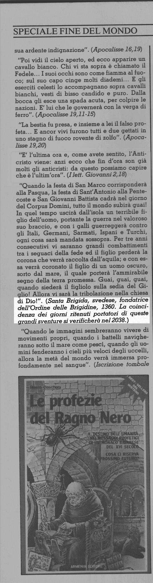 Articolo di Luigi Bruno
