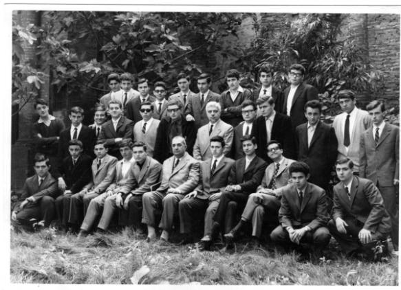 A.S.1963/64 classe I A Liceo Classico Ferrara