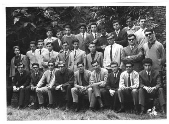Classe II A liceo Ariosto- A.S. 1964/65