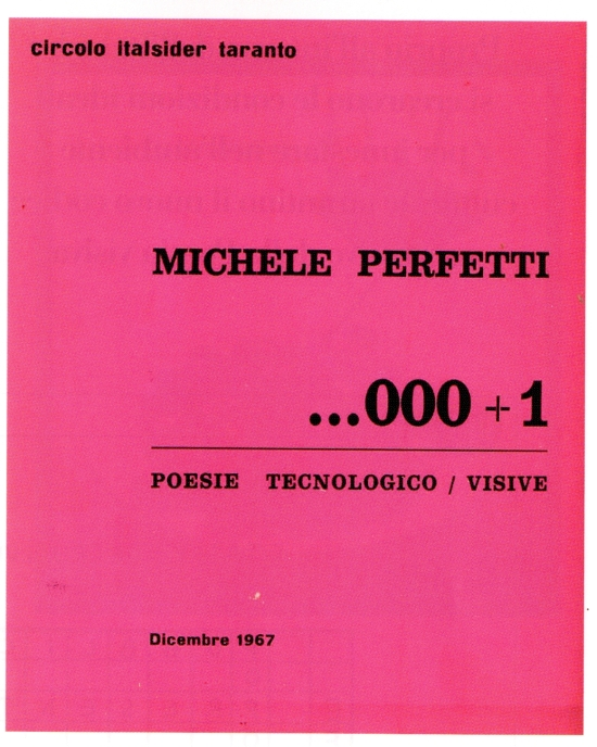 Poesie tecnologico-visive (1967)