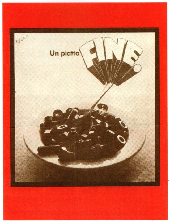"""Michele perfetti """"Un piatto fine"""" (1973)"""