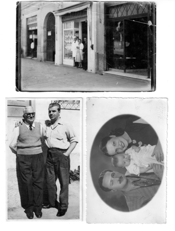 foto di famiglia di Cappi Elvino, emigrato ai primi del '900 a San Paolo